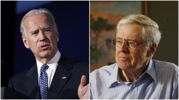 Food for Thought: Joe Biden and Charles Koch